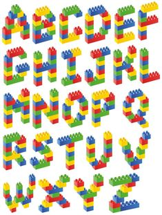 stickers for hydroflasks boys Lego Activities, Alphabet Activities, Preschool Activities, Lego Basic, Lego Letters, Alphabet Letters, Legos, Lego Challenge, Lego Club