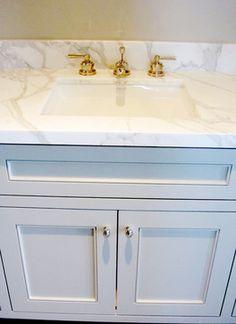 Marble Vanity salle-de-bain
