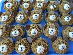 My teddy bear cupcakes.