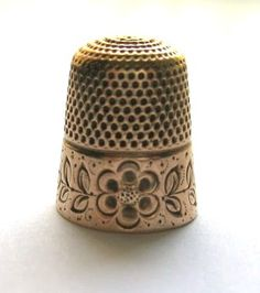 The humble thimble is generally considered a rudimentary essential in any sewing kit. And yet, I've never used one. I actually just bought ...