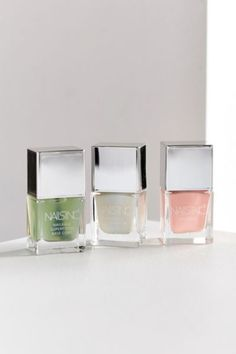 Shop Nails inc. Baby NailKale Nail Polish Collection at Urban Outfitters today. We carry all the latest styles, colors and brands for you to choose from right here. New Nail Polish, Nail Polish Bottles, Nail Polish Sets, Nail Polish Colors, Fresh Makeup, It Cosmetics Brushes, Cosmetic Brushes, Nude Eyeshadow, Cuticle Oil