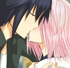 Ikuto kisses Amu <3
