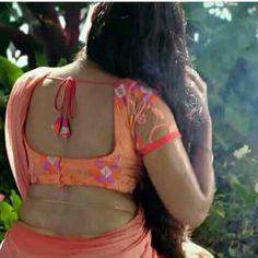 Anupama Parameswaran, India Beauty, Telugu, New Fashion, Backless, Saree, Lady, Sari, Surrey