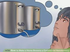 Image titled Make a Home Brewery a Commercial Nanobrewery Step 1