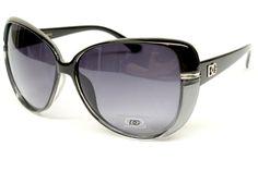 ($9.95) Dg Eyewear Vintage Retro Fashion Cat Eye Sunglasses Womens Black Silver D837 From DG Eyewear