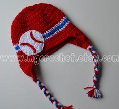Crochet Baseball Hat by MGCrochet on Etsy