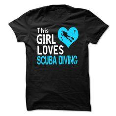 This Girl Loves Scuba Diving T-Shirt