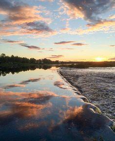 photo via visitlapland instagram Summer sky. #nature #visitlapland #kittilä #Finland ---------------------------------------------------------------------------- Picture by @virpula1 #finnishlapland #arcticdream #ourlapland #liveauthentic #visitfinland #levilapland