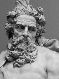 Neptune by Lambert-Sigisbert Adam, France, 1725 AD