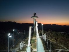 PyeongChang Winter Olympics 2018 Venues   Photo 16   TMZ.com Pyeongchang 2018 Winter Olympics, Ski Jumping, Cn Tower, Skiing, Travel, Ski, Viajes, Destinations, Traveling