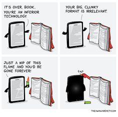 By The Awkward Yeti, via Ebook Porn. I Love Books, Good Books, Books To Read, My Books, Reading Books, Guided Reading, Book Memes, Book Quotes, Bookworm Quotes