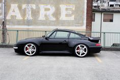 "Incredible 993 Turbo on 19"" Ruf Wheels. #everyday993 #Porsche"