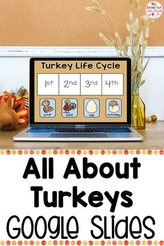 Engage your students with these fun, digital, interactive, turkey investigation, activity using Google Classroom! Students will love using a digital interactive lapbook all about turkeys. From turkey facts, to labeling and more, this is the perfect fall Thanksgiving classroom activity! Ideal for grades PreK through second. #fallactivity #thanksgiving
