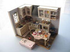 イメージ0 - 誕生日のキッチンは大忙し!の画像 - COCOのミニチュア・ドールハウス日和 - Yahoo!ブログ
