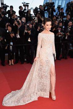 Li Bingbing in Elie Saab Couture - Cannes 2015 Vanity Fair, Couture Dresses, Fashion Dresses, Li Bingbing, Prom Dresses, Formal Dresses, Long Dresses, Red Carpet Looks, Red Carpet Dresses