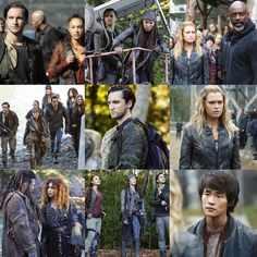 """#The100 4x04 """"A Lie Guarded"""""""