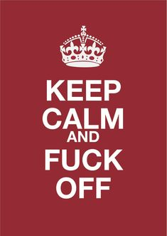 "haha the best ""keep calm"" ever!"