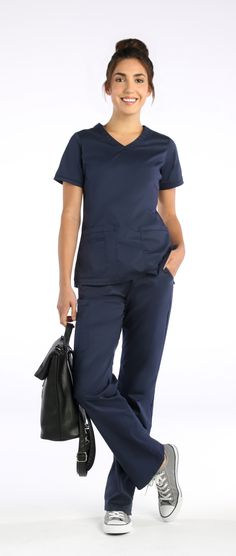 070742b2117 Look like pro, feel like a pro. Our Blossom scrubs mean business. With