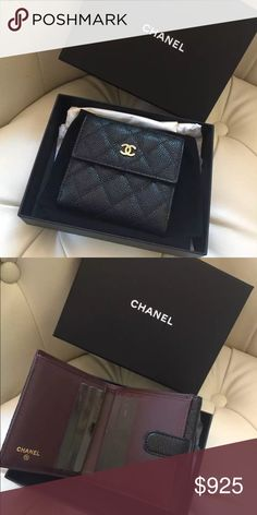 80f3b9499fcf Chanel Small Cavier Wallet Chanel Small Cavier Wallet, in 100% perfect  condition! 100