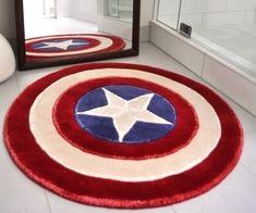 Captain America Rug