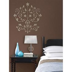 This Nouveau Damask - Peel N Stick Dorm Decor is a great dorm room decorating idea from DormCo. This cool dorm room decor option ships for DormCo's low flat shipping. We stock all Peel n Stick Decor in our warehouse.