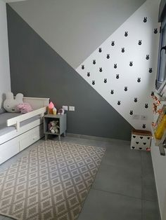 Kids room ideas – Home Decor Designs Baby Bedroom, Baby Boy Rooms, Baby Room Decor, Kids Bedroom, Bedroom Decor, Nursery Decor, Unisex Baby Room, Kids Room Paint, Room Kids
