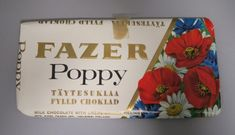 Kansikuva Good Old Times, Finland, Poppies, Retro, Nostalgia, The Past, Old Things, Graphic Design, Chocolate