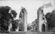 Glastonbury, Abbey From East c.1874, from Francis Frith