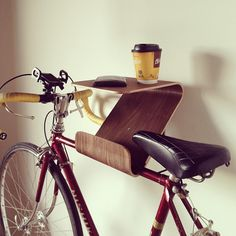 onefortythree / plywood bike stand / www.onefortythree.com