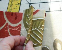 Pinch-Pleat Drapery Panels - Tutorial