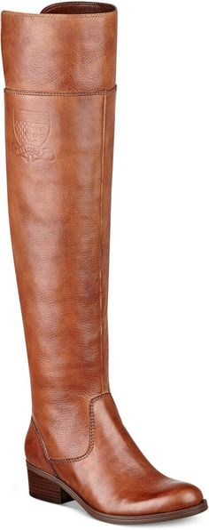 Tommy Hilfiger Women's Giorgia Over The Knee Boots, Indulge in the beauty of this tall, chic style. You'll love how they make your look so much more sophisticated. The Giorgia over-the-knee boots by Tommy Hilfiger.
