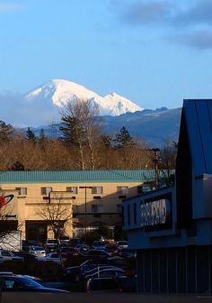 Bellingham, Washington - This is where I live and get to see Mount Baker every day.
