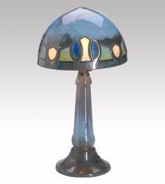Fulper Pottery Vasekraft Table Lamp. Circa 1911-1916.