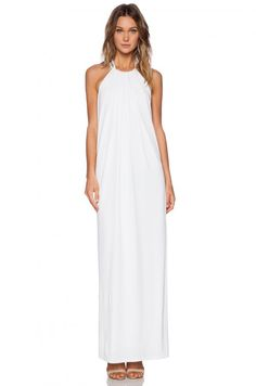 Rachel Zoe Ira Chain Halter Maxi Dress | Clothing
