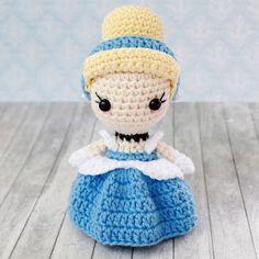 PARANOYAK SATIRLAR: Amigurumi Prenses Sindirella Tarifi / Amigurumi Princess Cinderella Free Pattern