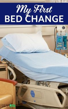 My first bed change. Read and laugh along with me - a nurse - as I share the very real story of my first bed change. We've all been there, it's so relatable! #FreshRN #nurse #nurses #nursingschool #newnurse #nursehumor