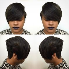 Dope Cuts ✂️ #HealthyRelaxedHair #ShortCuts #BookNow #HAIRbyLatise ✂️