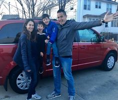 """1st Blessing of 2017! Please meet Ben & Keisha and their 2 adorable boys! This incredible missionary family was referred by Lifegate Church. After 12 years of sharing the gospel overseas they have been called to come back home for a season! Blessed to have this super anointed family back in our community! Big thank you to Owner's Pride for another awesome detail job!! Philippians 4:19 """"My God shall supply ALL my needs according to his riches in glory in Jesus Christ"""". #chariots4hope #2017…"""