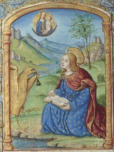 Horae (Rome) [Heures à l'usage de Rome] Auteur : Bellemare, Noël (14..-1546). Enlumineur Date d'édition : 1501-1550 Type : manuscrit Langue : Latin