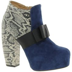 ASOS ABANDON Platform Leather Ankle Boots ($64) ❤ liked on Polyvore