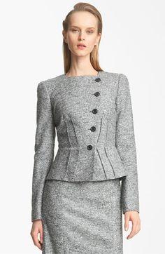 Armani Collezioni Micro Bouclé Jacket available at #Nordstrom