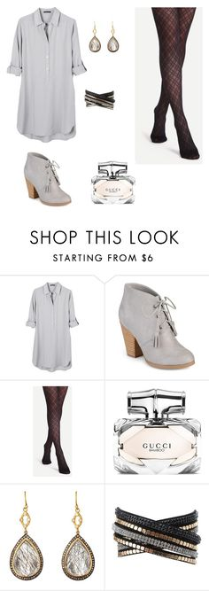 """""""💎💎💎"""" by alyssawarner ❤ liked on Polyvore featuring United by Blue, Journee Collection, Gucci, Sara Weinstock and Charlotte Russe"""