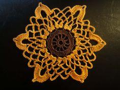 Ажурный мотив  Openwork motif Crochet