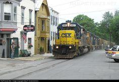 RailPictures.Net Photo: CSXT 8831 CSX Transportation (CSXT) EMD SD40-2 at Hudson, New York by Gary R. Schermerhorn