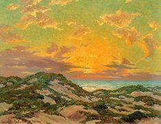 Sunset <br><small> Granville Redmond