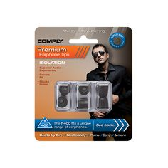 Block external noise and focus on your audio with Comply™ Premium Earphone Tips Audio, Harman Kardon, Beats By Dre, Focus On Yourself, Bass, Led, Phone, Products, Headpieces