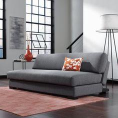 Chiller Convertible Sofa in Dark Gray Finish