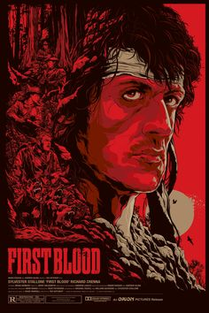 First Blood by Ken Taylor for Mondo