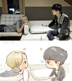 Xia JJ Fan art Friendship, and relationship goals tbqh.