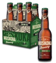 Muskoka Cream Ale- Pretty dam decent if you ask me.